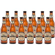 Mahou Barrica Cerveza Edición Original - Caja de 12 Botellas x 330 ml - Total: