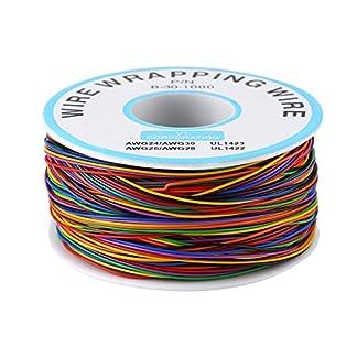 Cable de Embalaje de Prueba de Aislamiento de Colores Cable de Cobre Estañado P/N B-30-1000 280M 30AWG 280M