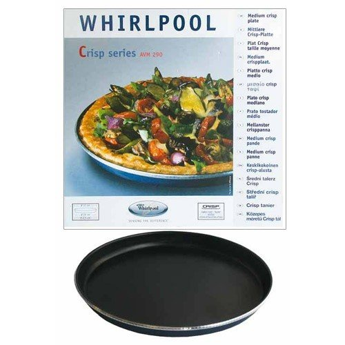 WHIRLPOOL - PLAT CRISP Ø 31CM POUR M.O. WHIRLPOOL FAMILY CHEF/TALENT pour micro ondes WHIRLPOOL