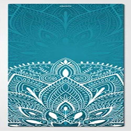 Reine natürliche Kork-Yoga-Umweltmatte, rutschfeste Turnmatte TPE-Eignungs-Pilatesauflagen -