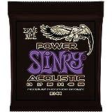 Ernie Ball 2144 Power Slinky Acoustic Guitar Strings