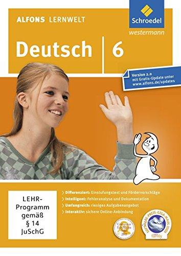 Alfons Lernwelt Deutsch 6  Einzelplatzlizenz