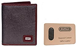 Gentleman Brown Genuine Italian Leather Note Case Wallet for Men Boys�(7 Card Slots)