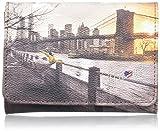 YNOT i-346, Portafoglio Donna, Multicolore (Romantic Coach), 13.5x10.5x3 cm (W x H x L)