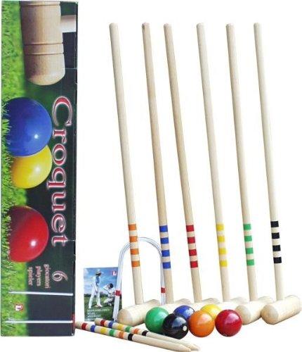 Preisvergleich Produktbild KROCKET, Standard 6 Spieler, Qualität Made in Italy