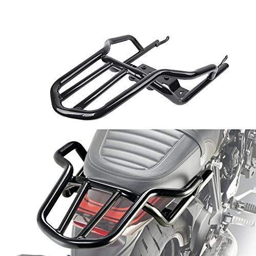 Motorrad Gepäckbrücke Gepäckträger Stahl Verlängern Cargo Bag Case Box Träger für 2018 Kawasaki Z900RS Z 900 RS ABS/Cafe ABS (Gepäckbrücke Motorrad)
