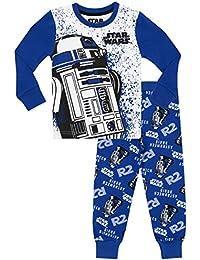 Star Wars Jungen Star Wars R2D2 Schlafanzug - Slim Fit