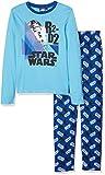 Star Wars Jungen Zweiteiliger Schlafanzug VIII, Blau (Blue 15-4421TC), 10 Jahre