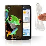 Stuff4 Gel Phone Case for Huawei Ascend G630 Wildlife