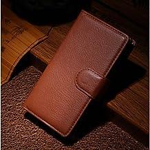Proteja su teléfono, Compatibilidad con tarjetas en relieve de pie para la protección nokia lumia520 ( Color : Marrón )