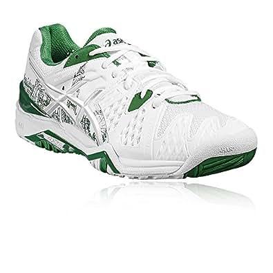 pretty nice 1632b 1b0ad ASICS Gel-Resolution 6 L.E. London Tennis Shoe - 5.5 White