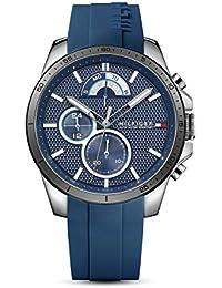 Amazon.es  Azul - Tommy Hilfiger  Relojes d3a573d66b86