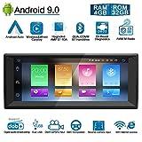 Ohok 10,25 Zoll Bildschirm 1 Din Autoradio Android 9.0 Pie Octa Core 4G+32G Radio mit Navi Moniceiver GPS Navigation Unterstützt Bluetooth DAB+ für BMW 5 E39 Series/BMW X5 E53 Series