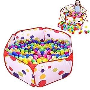 Uclever piscina di palline ball pit pool bambini tenda - Amazon piscina bambini ...