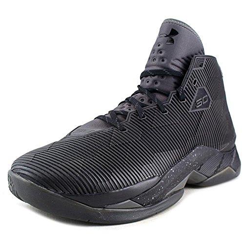 Under Armour Curry 2.5 Synthetik BasketballSchuh Blk/Chc/Chc