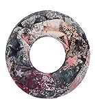 Majea Damen Loop Schal viele Farben tolle Muster Schlauchschal Halstücher (alt rosa 12)