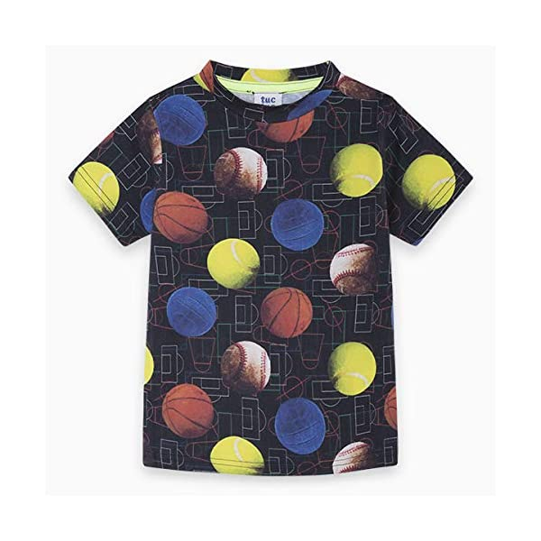 Tuc Tuc Camiseta Punto Pelotas NIÑO Negra Japan Training 1