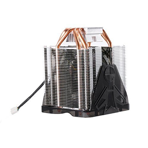 LESHP F3 - Prozessorkühler mit 90 mm PWM Lüfter - CPU Kühler für AMD und Intel Sockel bis zu 150 Watt Kühlleistung