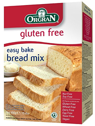 Orgran Gluten Free Easy Bake Bread Mix 450g (Case of 7)