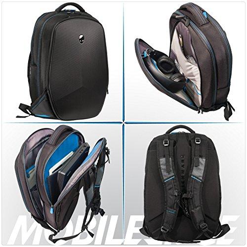 Mobile Edge Alienware 15 Inch Black Vindicator 2.0 Casual Backpack Image 9