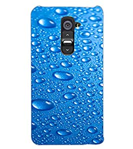 LG G2 WATER DROPS Back Cover by PRINTSWAG