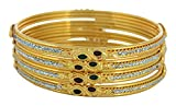 Ishita Fashions Gold Metal Bangle for Wo...
