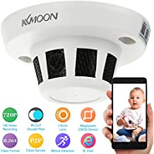 """KKmoon IP Cámara de Vigilancia (1/4"""" CMOS, 1.0MP, H.264, HD 720P, IR-CUT, Lente 3.6mm, ONVIF, Detección de Movimiento CCTV) Seguridad para Hogar"""