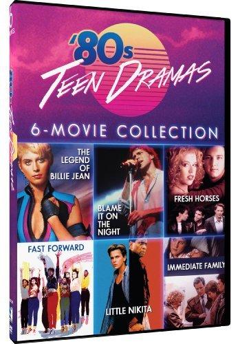 80s Teen Dramas - 6 Movie Set - Legend of Billie Jean - Blame It On the Night - Fresh Horses - Fast Forward - Little Nikita - Immediate Family by Ben Stiller