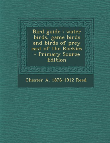 Bird Guide: Water Birds, Game Birds and Birds of Prey East of the Rockies