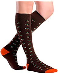 Zensah Herren Ditsy Flower Compression Socks Kompressions