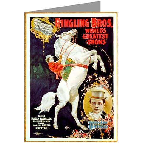 Circo Poster di Madame Castel Los Daredevil