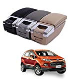#5: Ride Crafters Stylish Arm Rest Console For ECOSPORT -Black