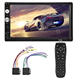 EBTOOLS 7 inch HD Bluetooth Doppel Din Auto Stereo MP5 Player Autoradio Audio Video Player Pupports FM USB AUX MP5 Multimedia