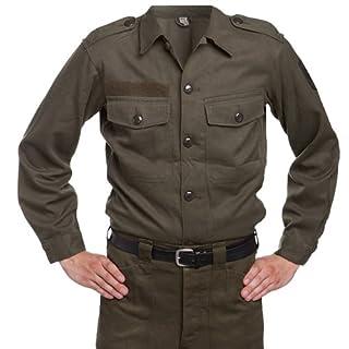 Cissbury Austrian Army Issue Vintage Mens Field Shirt