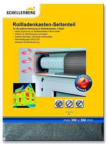 Schellenberg 66272 Rollladenkasten-Dämmung 2 Seiteinteile 30 x 36 cm / 15 mm