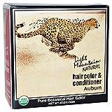 Light Mountain Colorant capillaire et après-shampooing - Henné auburn - Couleur naturelle - 120 ml
