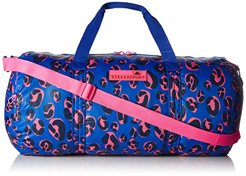 adidas Teambag Leopard Bolsa de Deporte Stella, Azul, 62x 31x 31cm, 50litros, aa8688
