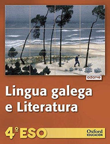 Lingua Galega e Literatura 4º ESO Adarve (Galicia): Libro del Alumno - 9788467369564