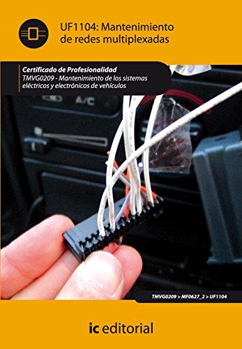 Mantenimiento de redes multiplexadas. tmvg0209 - mantenimiento de los sistemas eléctricos y electrónicos de vehículos por Alberto Cano Martínez