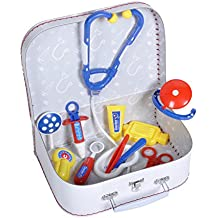 Knorrtoys F15410 - Maletín médico para niños (18 piezas)