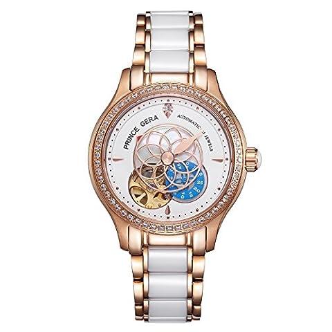 PRINCE GERA - -Armbanduhr- PG0071L-SRW-B