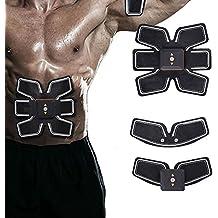 [nueva versión 2017] Cuerpo de toner abdominal tonificante musculación fitness entrenamiento ABS Fit entrenamiento musculación muscular ABS cinturón tonificación gimnasio máquina de entrenamiento, Smart Home fitness aparatos unisex apoyo para hombres y mujeres