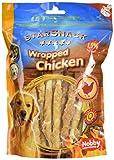 Nobby STARSNACK Wrapped Chicken 375 g, 1er Pack (1 x 375 g)