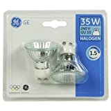 Best General Electric Light Bulbs - 2 Pack GE (General Electric) 35W GU10 Halogen Review