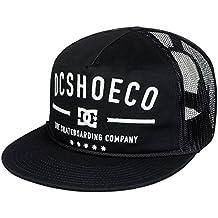DC Shoes Men's Wall Bitten Snapback Hat Black