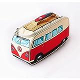 Volkswagen T1 Bus Lunchbox mit Thermofunktion in rot - VW Bulli Vesperdose Brotdose Kühltasche Vesperbox