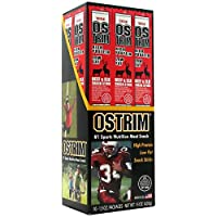 ‏‪Ostrim Ostrim Beef/Elk Stick,Teriyaki, 10 ea, Pack of 3‬‏