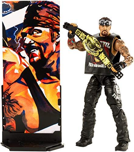 Mattel FMG37 WWE Flashback Undertaker 15 cm Elite Figur, Spielzeug Actionfiguren ab 6 Jahren