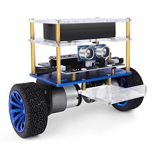 ELEGOO Penguin BOT Robot Biped Compatible con Arduino IDE Proyecto con Tutorial de Ensamblaje, Kit Stem para Aficionados, Juguetes Stem para Niños y Adultos Versión 2.0 Rojo