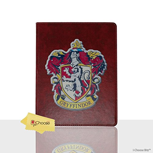 Apple iPad Mini 1,2,3 Folio Harry Potter Häuser Hülle / Schützendes PU Leder Smart Flip Hülle / iCHOOSE / Haus - Mini Harry Potter Case Ipad